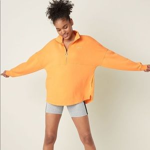 Victoria's Secret PINK Quarter Zip Sweater